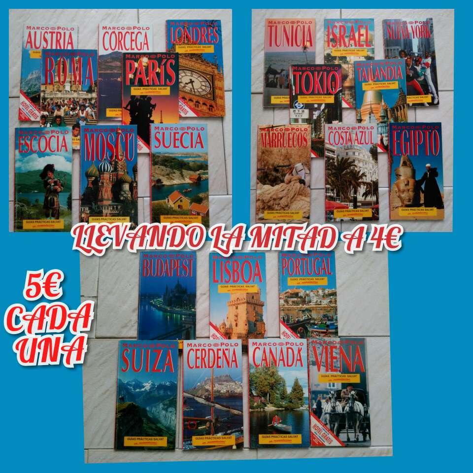 Imagen producto Guías viajes antiguas 6