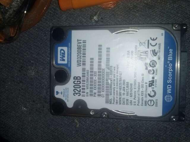 Imagen disco duro para portatil