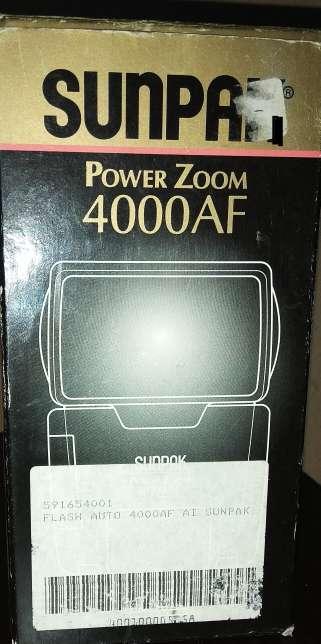 Imagen producto Flash sunpak pz 4.000 AF  4