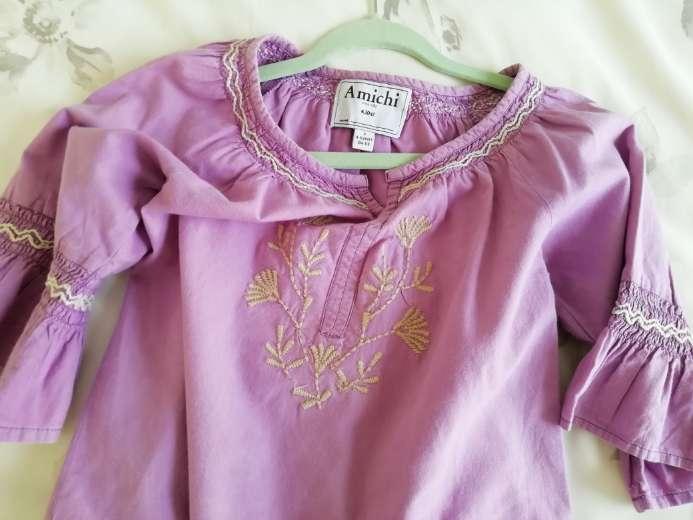 Imagen producto Blusa niña 5-6 años. Marca Amichi. 2