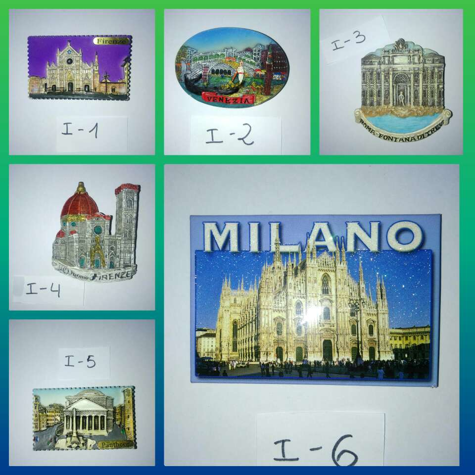 Imagen producto Imanes de Italia  1