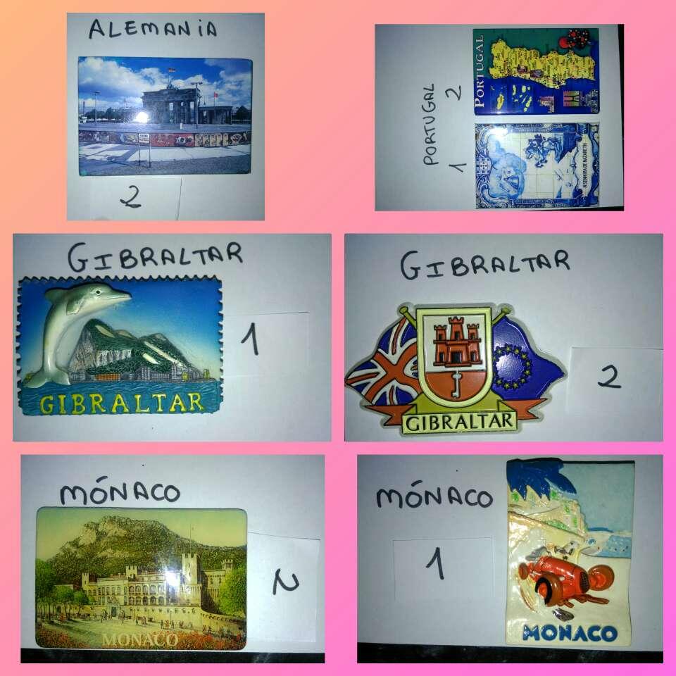 Imagen producto Imanes varios países 3