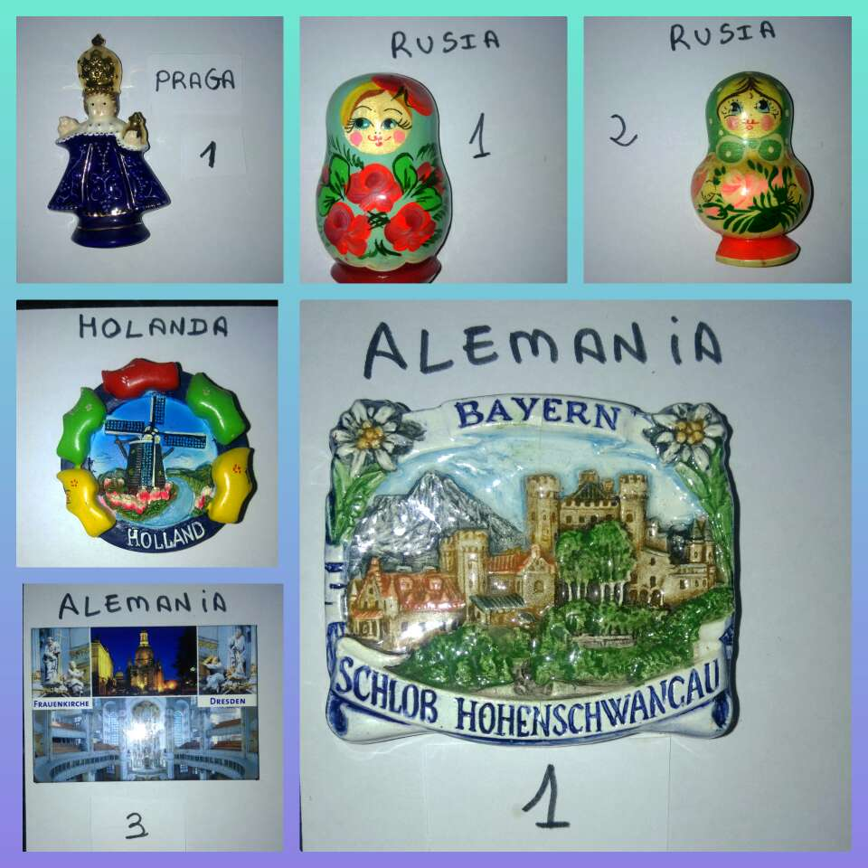 Imagen producto Imanes varios países 4