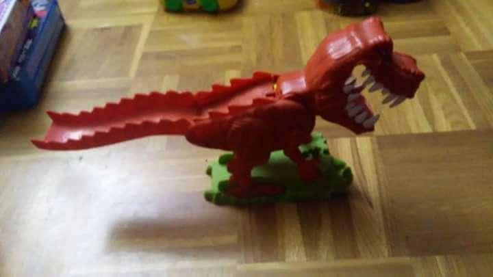 Imagen producto Dinosaurio articulado 2