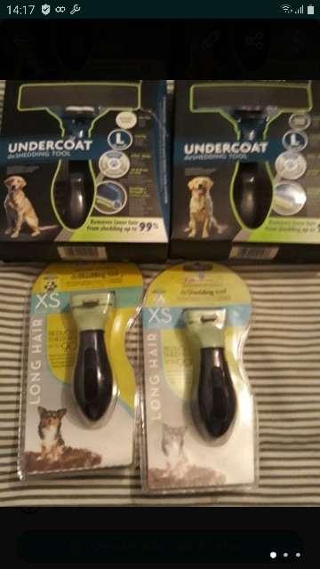 Imagen cepillos para perros tamaño l y xs