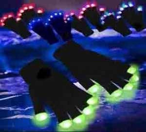 Imagen guantes LED