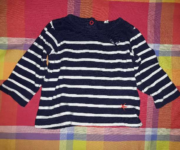 Imagen Camiseta bebé, 6m.