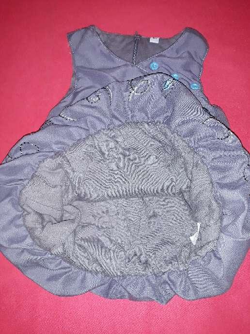 Imagen producto Vestido con forro, 6m.  2