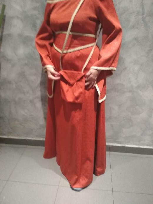 Imagen vestido medieval