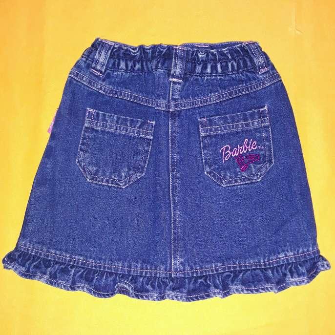 Imagen producto Falda Barbie, 5-6 años.  2