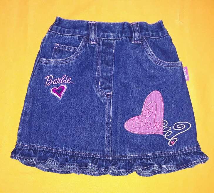Imagen Falda Barbie, 5-6 años.