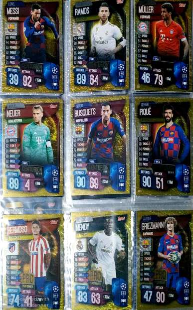 Imagen producto Topps Match Attax 2019/20 2