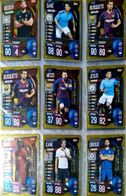 Imagen producto Topps Match Attax 2019/20 1
