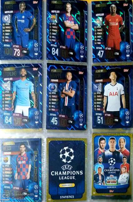Imagen producto Topps Match Attax 2019/20 3