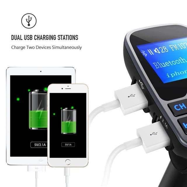 Imagen producto Manos libres para el coche admite SD memoria 2 entradas USB Bluetooth etc SOMOS TIENDA  3
