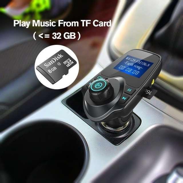 Imagen Manos libres para el coche admite SD memoria 2 entradas USB Bluetooth etc SOMOS TIENDA