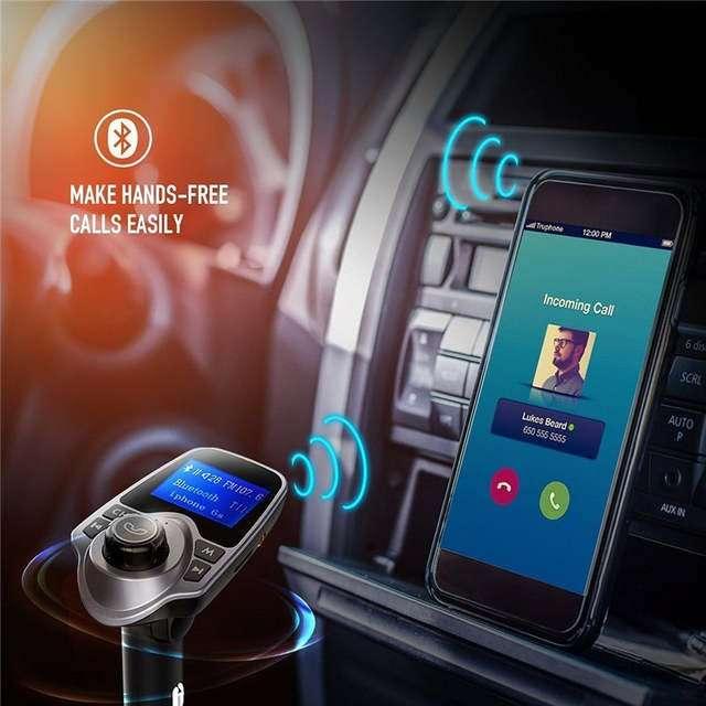 Imagen producto Manos libres para el coche admite SD memoria 2 entradas USB Bluetooth etc SOMOS TIENDA  2