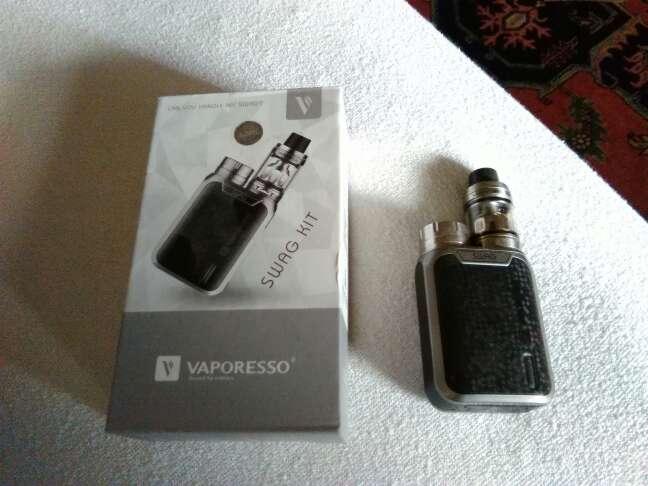 Imagen Vapeador marca Vaporesso. Comprado en EEUU