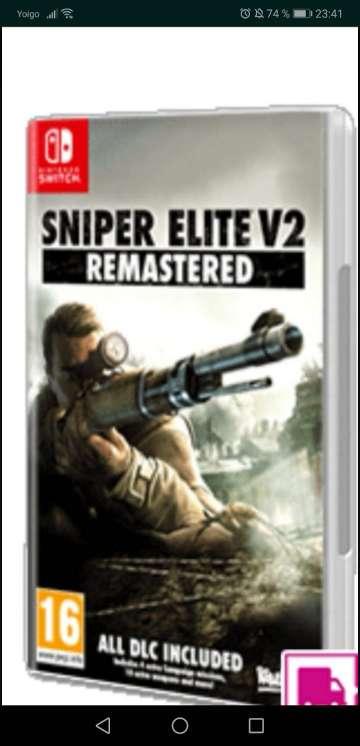 Imagen Sniper elite v2 remasterizado