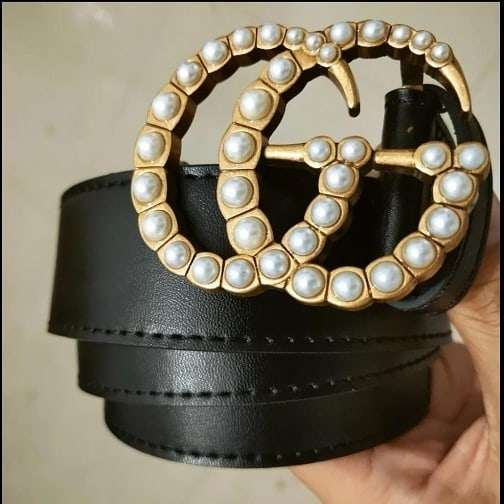 Imagen producto Cinturon gg perlas  2