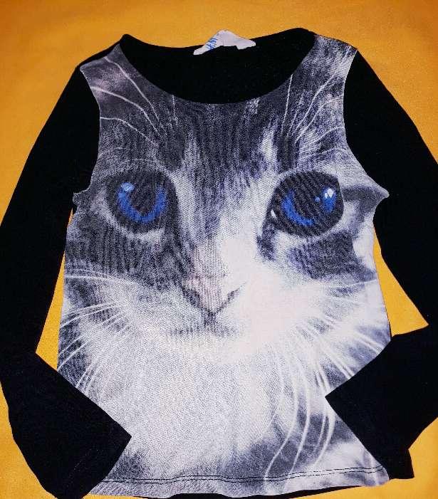Imagen producto Camiseta niña H&M, 5-6 años.  1