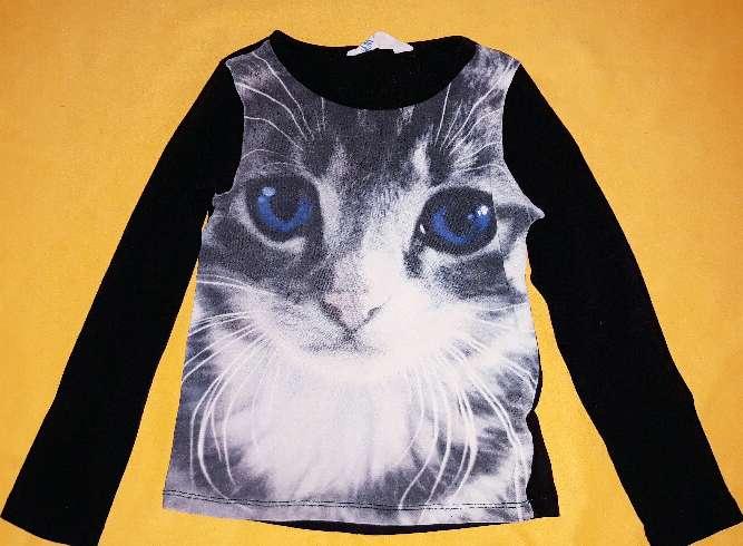 Imagen producto Camiseta niña H&M, 5-6 años.  2