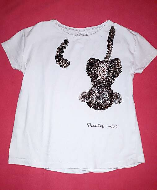 Imagen Camiseta Zara mono, 5 años.