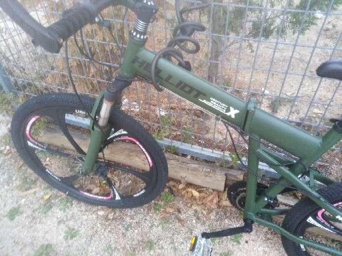 Imagen Bicicleta Hammer plegable