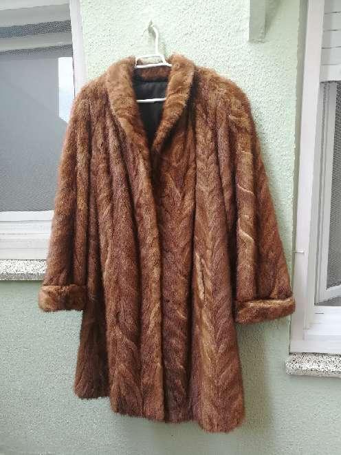 Imagen Abrigo de piel con garantia