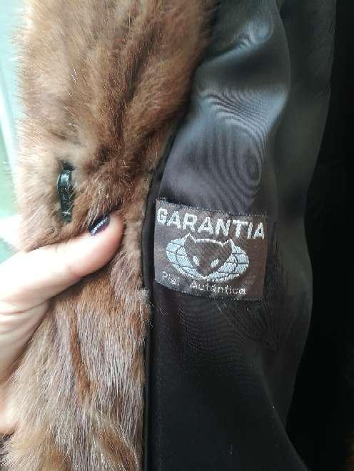 Imagen producto Abrigo de piel con garantia 2