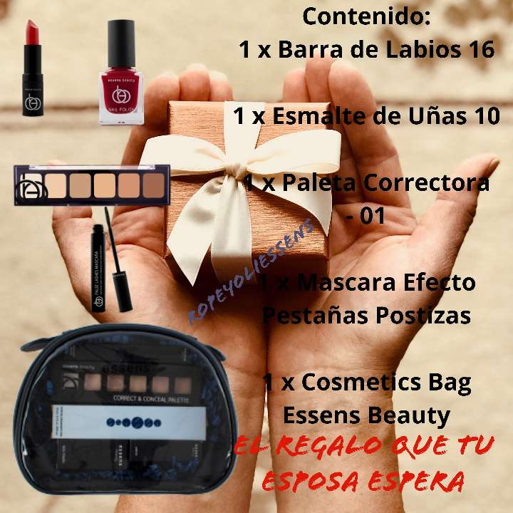 Imagen producto Combo cosmética beauty red 1