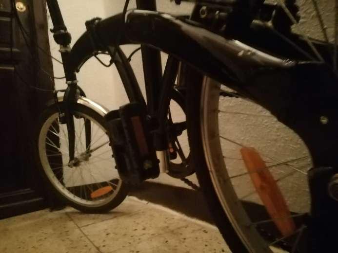 Imagen producto Bicicleta Plegable en perfecto estado  3