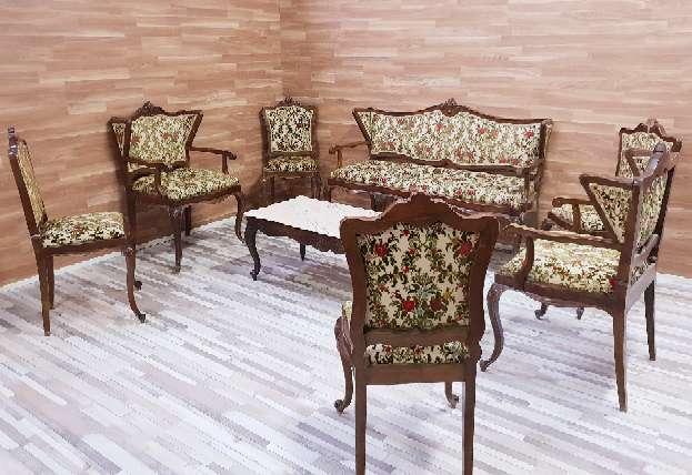 Imagen Conjunto salon antiguo