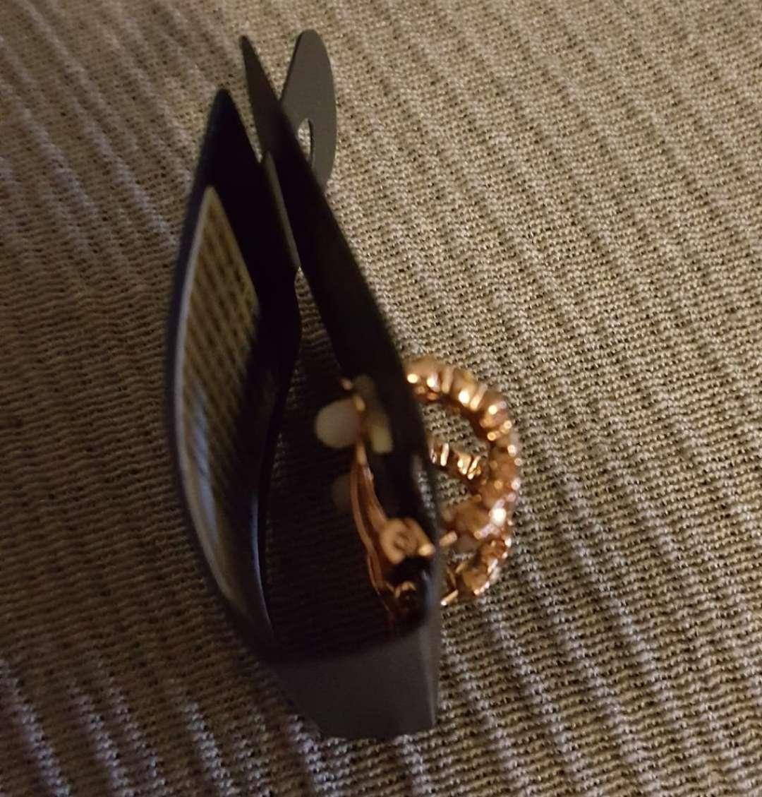 Imagen producto Pendientes dorados Bijou Brigitte nuevos  2