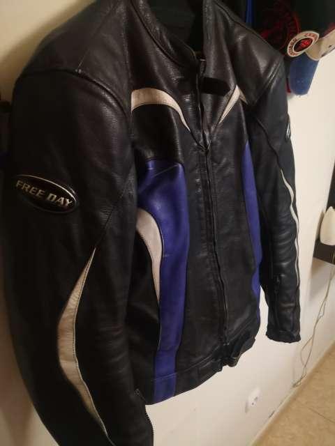 Imagen Chaqueta moto de cuero
