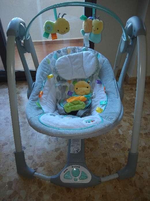 Imagen columpio bebe