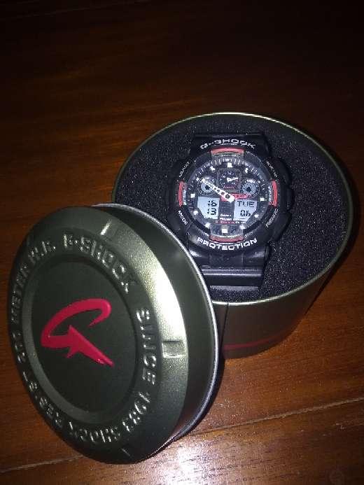 Imagen reloj g-shock con caja