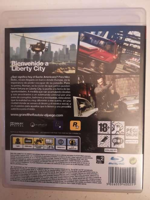 Imagen producto GTA 4 (GTA IV) PS3 2