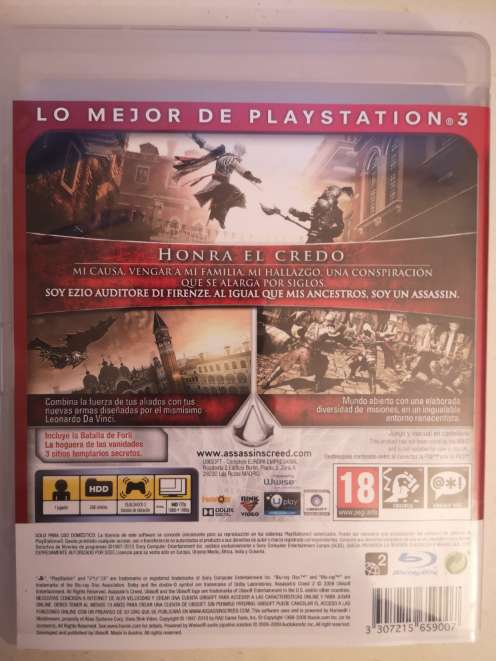 Imagen producto Assassins Creed 2 (Assassins Creed II) PS3 2