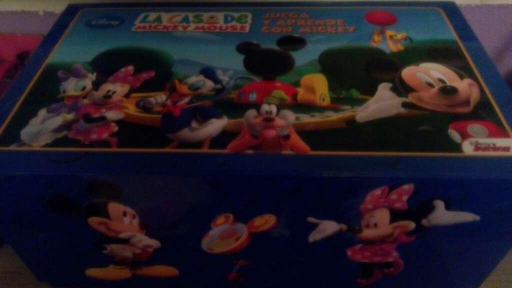 Imagen libros + dvd la casa de mickey mouse