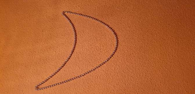 Imagen collar perlad