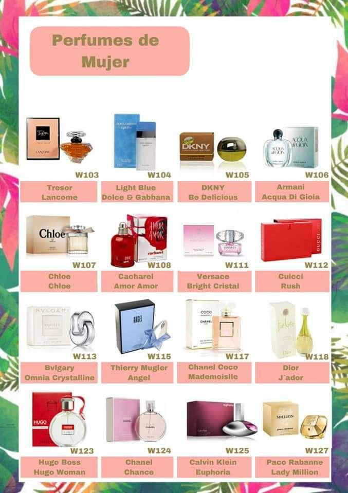 Imagen Perfumes Mujer y Hombre