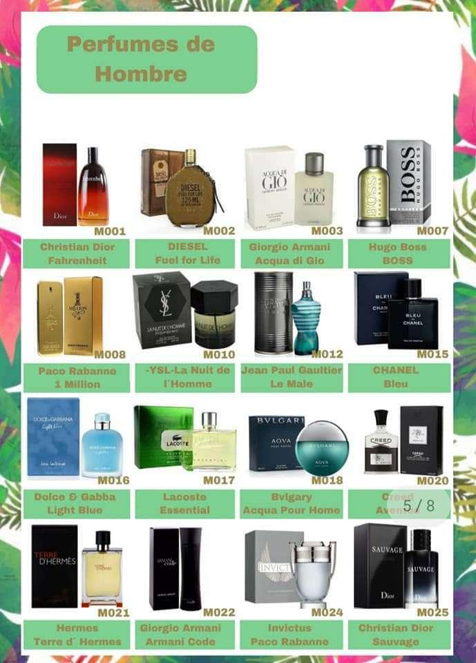 Imagen producto Perfumes Mujer y Hombre  4