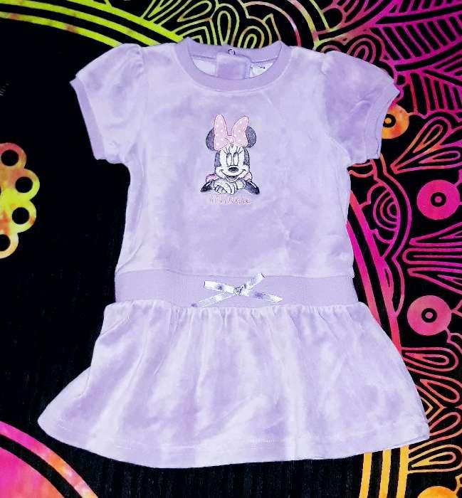 Imagen Vestido Disney aterciopelado, 12m.