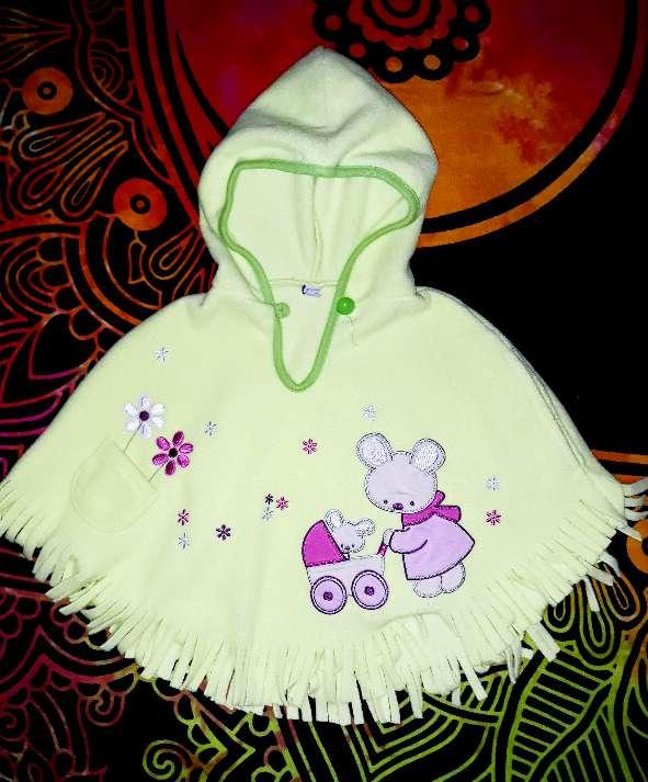 Imagen Poncho polar bebé, 12m.