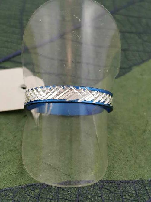 Imagen anillo azul g envío gratis.