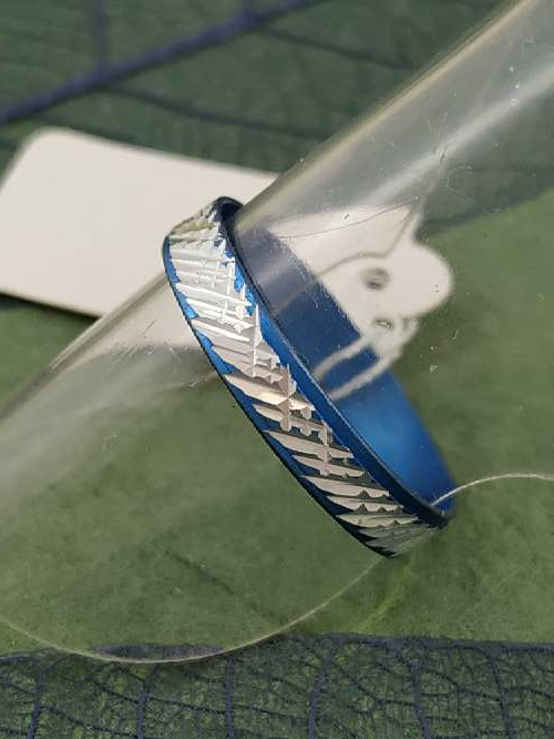 Imagen producto Anillo azul g envío gratis. 2