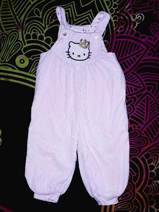 Imagen Peto Hello Kitty, 12-18m.