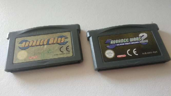 Imagen Pack advance Wars juego Gameboy advance
