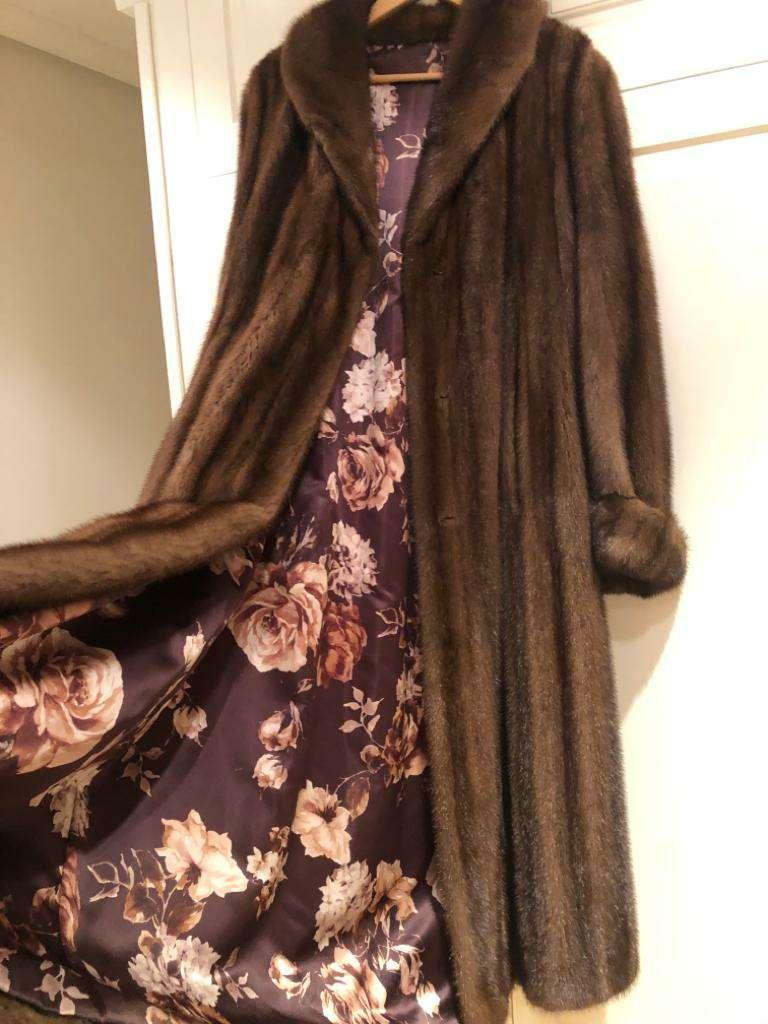 Imagen abrigo de vison